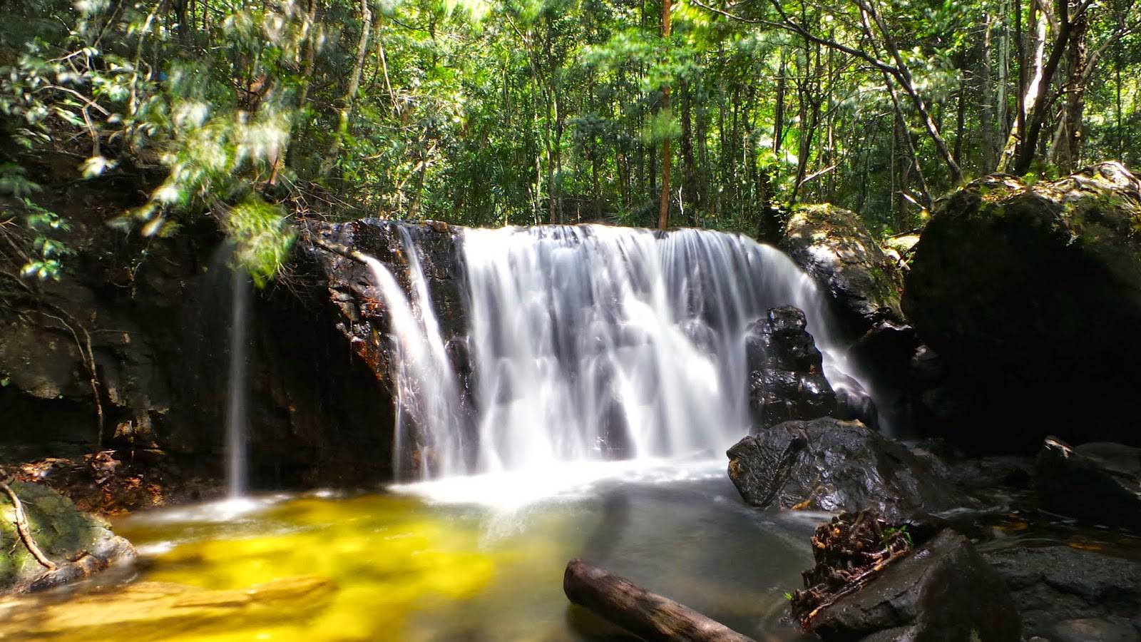 Tranh Waterfall in Phu quoc National Park