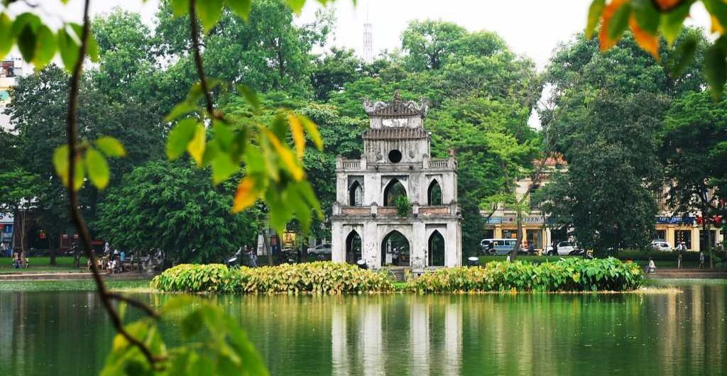 Ho Guom Lake - 3 days in hanoi and halong