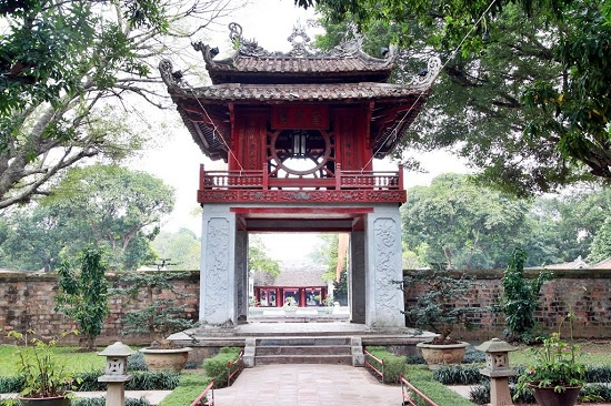 Temple of literature- 3 days in hanoi and halong