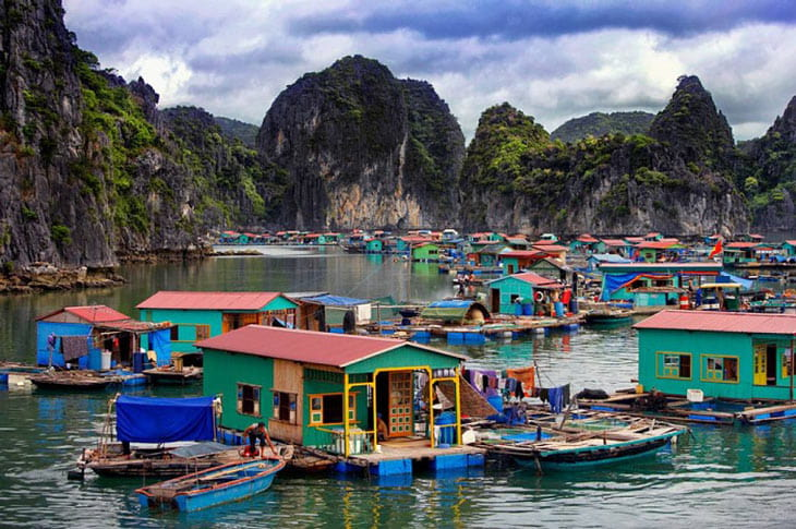 Vung Vieng Fishign Village - 3 days in hanoi and halong