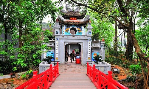 Ngoc Son Temple - 3 days in hanoi and halong